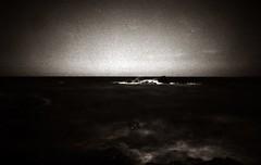 Bulb..... (Claudio Taras) Tags: claudio contrasto canona1 ndx1000 nd3 ombre onde bw bokeh bokehlicious biancoenero monocromo monochrom luci landscape longexposure mare 24x36 50mm14 fd taras sardegna santeodoro shadow analogica analogico film fomapan filmisnotdead