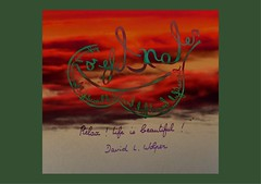 « Relax ! Life is beautiful ! David L. Wolper (Calligraphy typography écriture speculaire) Tags: reversewriting artwriting pensée thought handwriting vie writing painting artwork art typographie typography calligrafia calligraphie calligraphy proverbe citation quotes quote quotations quotation écriture life