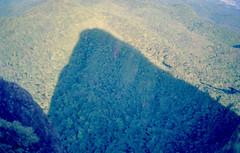 Two places at once...the shadow of the mountain we were at. (a.ninguem) Tags: zenit df300 kodak ektachrome 100 pico do corcovado ubatuba brazil mountain film chrome 35mm filme