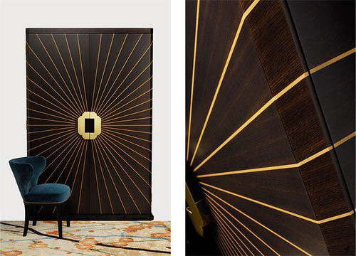 Designer Wood Door