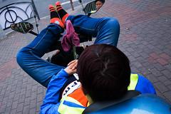 Nameless (Spontaneousnap) Tags: spontaneousnap street shanghai china city like candid documentary people publicareas lifestyle 上海 ricohgr takeabreak mirror motorcycle hardcore