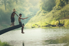 Asia Fishing boy (Visoot20) Tags: fishing lake river young boy childhood happy little summer asian countryside child fish african beautiful nature asia thailand person water face rural lifestyle outdoor traditional family smile boat fisherman background life silhouette smiling american tradition sunrise thai rod local holding blue white travel fun landscape outdoors vacation