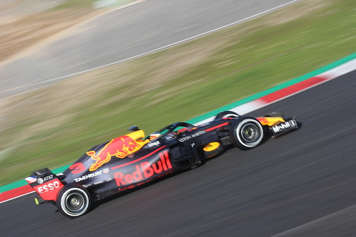 Daniel Ricciardo during Formula One Winter Testing 2018