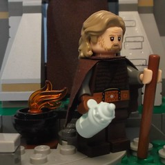 Minifig LEGO Custom Luke Ahch-To