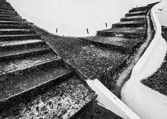 stairs (annabed) Tags: stairs bw steps concrete olympus portugal ascending path contrast wide angle