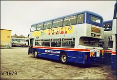 6907 (WDA 907T) ((Stop) The Clocks) Tags: wmpte 6907 leyland wda907t westmidlandstravel dudleygarage leylandfleetline estreet mcwmetrobus busgarage dudley