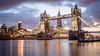 Tower Bridge (russpowney) Tags: towerbridge shard london sunset unitedkingdom riverthames russpowney