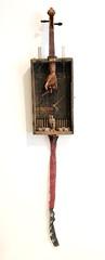 Masters of War (Vincent Mattina (aka FLUX)) Tags: war solider violin assemblage art puppet strings flag ammunition bullets military hand