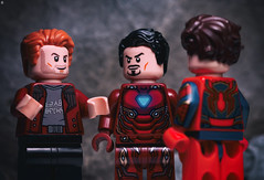 I think your plan is good, except it sucks (Jezbags) Tags: avengers guardiansofthegalaxy marvel marvelstudios starlord ironman spiderman infinitywar macro macrophotography macrodreams macrolego canon canon80d 80d 100mm closeup upclose lego legos toy toys