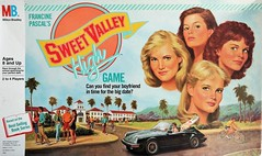 Find your boyfriend in time for the big date (Dimi Sahn) Tags: board game product sweet valley high milton bradley