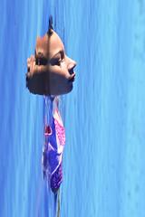 From The Blue (luenreta) Tags: blue 7dwf crazytuesdaytheme portrait water reflejo throughherlens prettyinblue flickrfriday feedyourcreativity