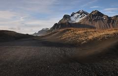 Vestrahorn, Iceland (I rM) Tags: vestrahorn iceland ngc sand beach dunes people