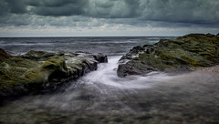 ce matin (joboss83) Tags: mer sea fujixt1 var france french rock rocher landscape sun beach méditerranée provence côté d azur nuage ciel groupenuagesetciel