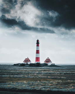 Storm over the lighthouse.