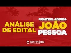 Concurso Controladoria de João Pessoa [CGM] - Análise de Edital   Ao vivo (portalminas) Tags: concurso controladoria de joão pessoa cgm análise edital   ao vivo