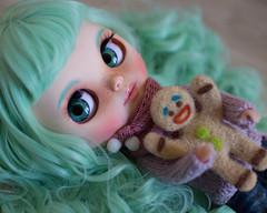 Chloe (missdrumu) Tags: blythe blythecustom customblythe doll missdrumu sweet cute customdoll ooak minthair