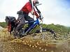 G0028461 (Photopedaler) Tags: cornishcycling bicycleriding watersplash floods puddles gopro pov