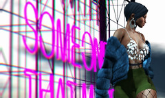 3.80 (Carley Benazzi) Tags: foxcity tableauvivant shadows shanghai mogul mimikri thecosmopolitanevent fur villena model mesh makeup thearcade jewelry studioexposuremakeup skin events ebony accessories avatar 2ndlife secondlife semakeup skinfair2018 bento couture chic urbancouture urban urbancool hair haute