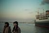 yokohama tasogare (N.sino) Tags: m9 summilux50mm yokohama girl yamashitapark hikawamaru dusk 横浜 黄昏 氷川丸 山下公園 女子