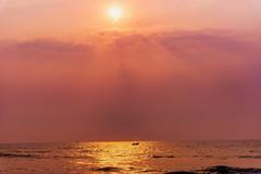 Fishing @ Sunrise (sr_ravi) Tags: elliotsbeach bessybeach besantnagar chennai tamilnadu india sunrise seascapes landscapes beachscapes nikond610 nikkor24120mmf4vr