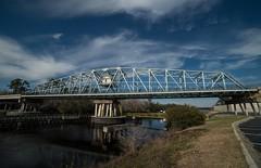 DSC_5387 (Copy) (pandjt) Tags: roadtrip unitedstates usa southcarolina northmyrtlebeach northmyrtlebeachsc barefootresortbridge barefootresortswingbridge swingbridge intracoastalwaterway bridge