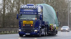 L XR 1019 (panmanstan) Tags: scania r580 wagon truck lorry commercial international freight transport haulage vehicle a63 everthorpe yorkshire