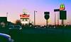 Wapakoneta Salad bar (ericdar1) Tags: salad bar ohio america nightfall wapakoneta car voiture sky blue