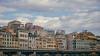 Genova, façades (FButzi) Tags: genova genoa liguria italia italy facciata facade buildings palazzi sopraelevata porta dei vacca clouds sky