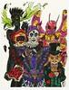 Team Joker (Lord Allo) Tags: dc batman art copic marker micron pen scarecrow johnathan crane joker harley quinn harleen quinzel killer moth drury walker mad hatter jervis tetch cameron van cleer