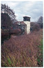 Coppermill Tower (peterphotographic) Tags: img014edwm coppermilltower walthamstow walthamstowwetlands e17 eastlondon london england uk britain ©peterhall olympus olympustrip olympustrip35 kodak ektar ektar100 scanned wetlands naturereserve sssi reeds tower mill londonwater listed architecture building industrialheritage film analog 35mm