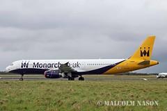 A321-231 OE-IFZ ex G-OZBF MONARCH colours (shanairpic) Tags: jetairliner a321 airbusa321 shannon monarch gozbf oeifz