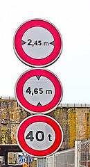 Triple Interdit (Filamon44) Tags: saintnazaire panneau signalisation blockhaus interdiction