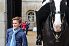 Faces of London: boy and Life Guard horse (Canadian Pacific) Tags: london england english uk great britain british unitedkingdom city centre center horse guards guard parade soldiers soldier 2017aimg2072 young man teen boy thequeenslifeguard changing blue purplish