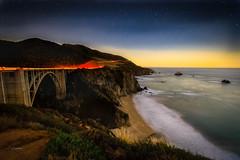 Bixby Bridge 3189 (blackhawk32) Tags: bigsur bixbybridge casr1 california hwy1 concretearch landscapes ocean sunset twilight