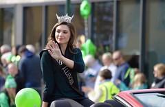 Miss Illinois Saint Patrick's Day Parade Saint Charles IL (Meridith112) Tags: saintpatricksday saintcharles kanecounty il illinois midwest parade nikon nikond610 nikon70300 march 2018 spring woman missillinois pageant beautypageant