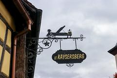 Vacances_0386 (Joanbrebo) Tags: kaysersbergvignoble grandest francia fr alsace hautrhin canoneos80d eosd efs1855mmf3556isstm autofocus signs letrero