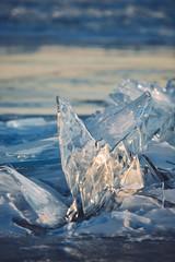 Lake Baikal - Olkhon island (dataichi) Tags: ольхон 貝加爾湖 байкал 바이칼호 russia travel tourism destination siberia winter baikal lake ice light sunset shape form shard cold