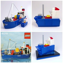 One of my all favourite Lego sets. #lego It's also the set that I have the earliest memory of having as a child. So much sentimentality (mattosborne325) Tags: ship boat lego