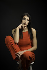 Lady in Red (Paula Bell Photography) Tags: godox strobes lighting model guelphphotographer portrait photography portraitphotography