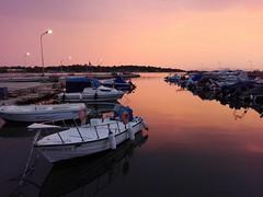 Today (Chris Maroulakis - Off for a few weeks) Tags: glyfada sunset pink sky sea boats port athens chris maroulakis 2018