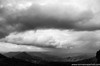 The valley of the shadow - Lamington National Park (Keystone Photography) Tags: repacholi keystone pentaxk5 queensland lamington valley blackandwhite clouds storm rain ominous dark weather contrast australia landscape view long wide dramatic sky mountains hills rugged