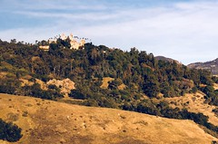 Hearst Castle, San Simeon, CA (- Adam Reeder -) Tags: sky landscape photo pretty view awesome california united states unitedstates west coast pacific ca wwwkk6gpvnet kk6gpv adam reeder adamreeder areed145 grass road mountain seatbelt carmirror fountain rule y2018 m01 d27 lat360 lon1210 san simeon luis obispo jpg apple iphone x hearst castle parkbench stonewall barrow chainlinkfence snowplow bannister tree
