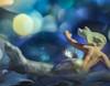 The Little Mermaid (Tomo M) Tags: onceuponatime macromondays preiser bokeh fairytale extensiontube pentacon blue mermaid macro wave ocean