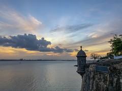 Sunset in San Juan, PR. (E S M Photography) Tags: caribbean caribe colors iphonex iphone history vacation sanjuan puertorico sunset