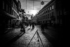 Simeon-street (Black&Light Streetphotographie) Tags: mono monochrome urban light shadows schatten trier tiefenschärfe dof sony fullframe vollformat city streetshots streetshooting