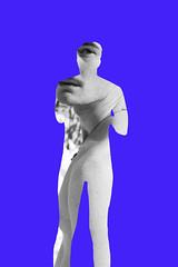 (Karsten Fatur) Tags: portrait model malemodel gay lgbt lgbtq queer queerart silhouette cutout blue purple frame reality perception conceptualart digitalart edit photoshop