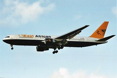 East African Airlines 767 5Y-CCC (craigmartin787) Tags: east african airlines 767 5yccc boeing lhr london heathrow airport england uk europe