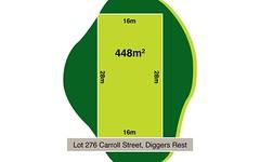 Lot 276, Carroll Street, Diggers Rest VIC