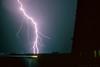 Lightning  Barrage near Lelystad (mesocyclone70) Tags: lightning storm thunderstorm electricity danger dangerous stormchase stormchaser stormchasing summer slide slidefilm