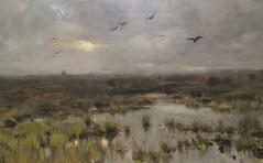 Anton Mauve - Het moeras (1885-88) (Elisa1880) Tags: anton mauve het moeras museum henriette polak zutphen nederland netherlands lage landen schatten uit rijks landscape landschap